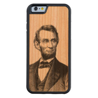 """Abraham Lincoln 1865 """"The great emancipator"""" Cherry iPhone 6 Bumper"""