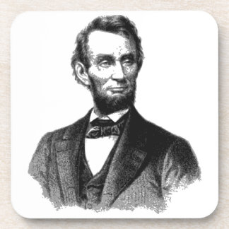"Abraham Lincoln 1865 ""The great emancipator"" Coasters"