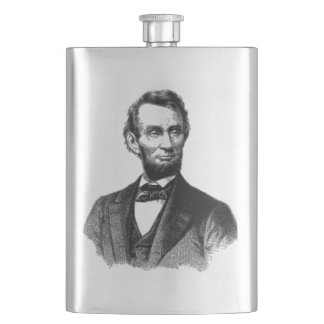 "Abraham Lincoln 1865 ""The great emancipator"" Flask"