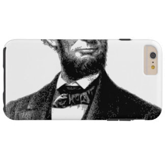 "Abraham Lincoln 1865 ""The great emancipator"" Tough iPhone 6 Plus Case"