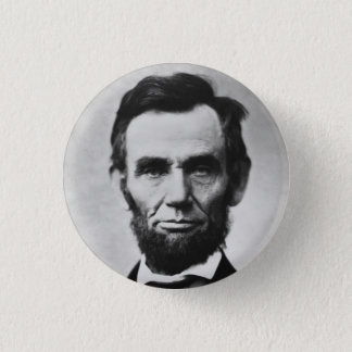 Abraham Lincoln 1 Inch Round Button