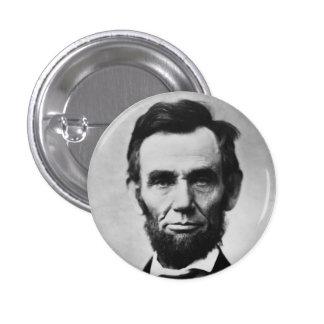 Abraham Lincoln 1 Inch Round Button