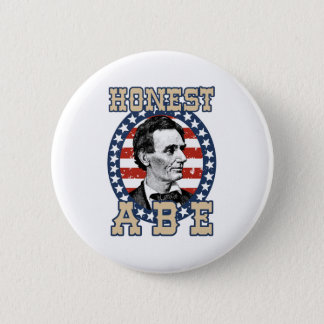Abraham Lincoln 2 Inch Round Button