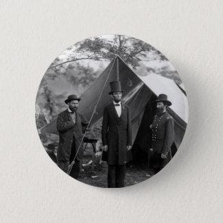 Abraham Lincoln Allan Pinkerton John A. McClernand 2 Inch Round Button