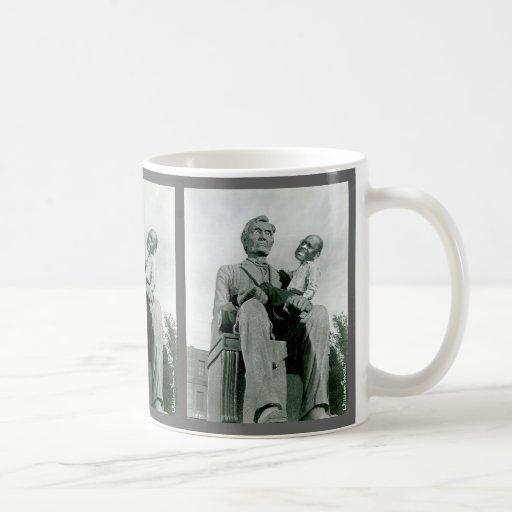 Abraham Lincoln and Herman Cain Mug
