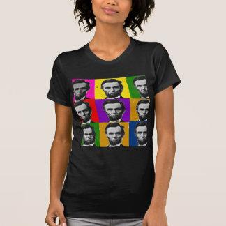 Abraham Lincoln Art Gifts---Unique 9 Photos T-Shirt