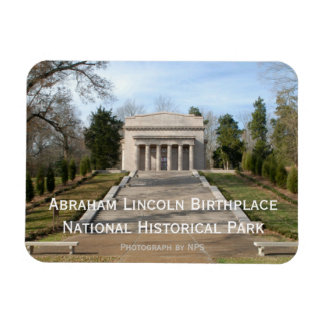 Abraham Lincoln Birthplace Memorial Magnet