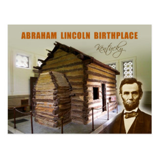 Abraham Lincoln Birthplace NHP, Kentucky Postcard
