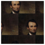 Abraham Lincoln by George H Story Fabric