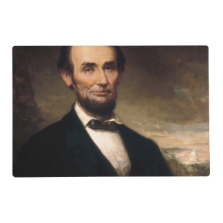 Abraham Lincoln by George H Story Laminated Placemat