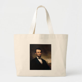 Abraham Lincoln by George H Story Large Tote Bag