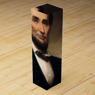 Abraham Lincoln by George H Story Wine Gift Box