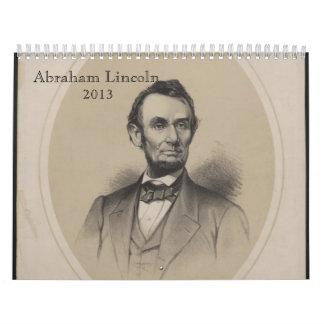 Abraham Lincoln Calendar