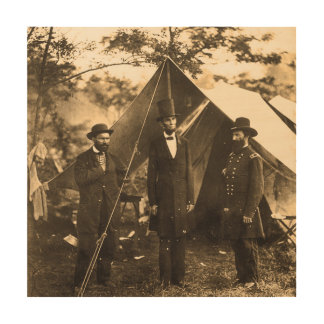Abraham Lincoln Civil War Wood Canvases