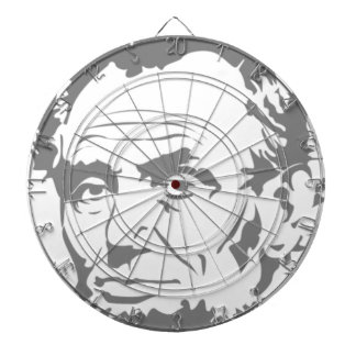 Abraham Lincoln Dartboard