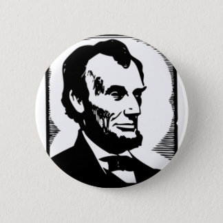 Abraham Lincoln Drawing 2 Inch Round Button