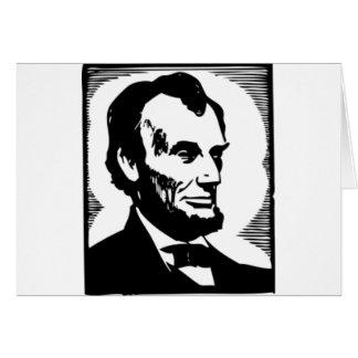 Abraham Lincoln Drawing Card
