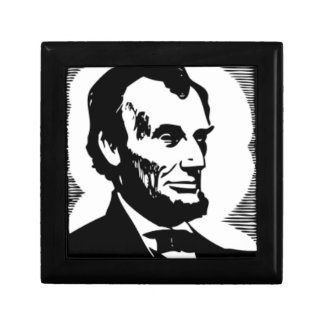 Abraham Lincoln Drawing Gift Box