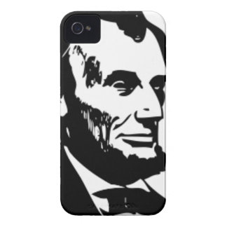 Abraham Lincoln Drawing iPhone 4 Case-Mate Case