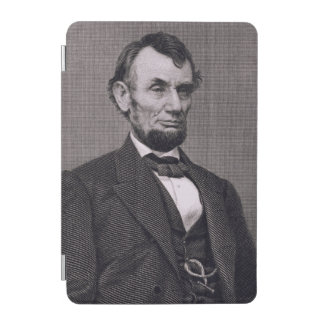 Abraham Lincoln, engraved from a photograph by Wil iPad Mini Cover