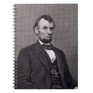Abraham Lincoln, engraved from a photograph by Wil Notebook