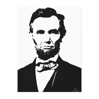 Abraham Lincoln Gallery Wrapped Canvas