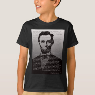 Abraham Lincoln Gettysburg Address T-Shirt