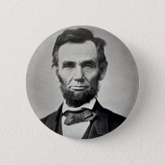Abraham Lincoln Gettysburg Portrait 2 Inch Round Button