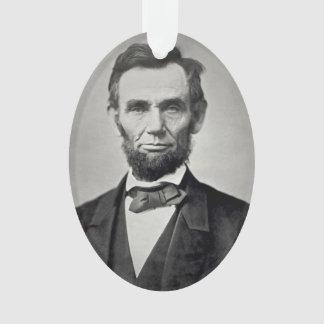 Abraham Lincoln Gettysburg Portrait Ornament