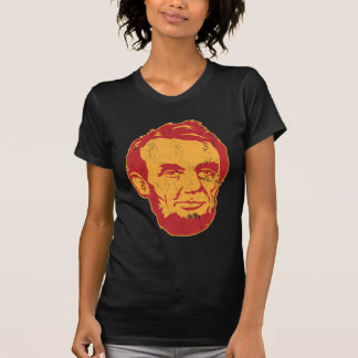 abraham lincoln giant portrait tshirt