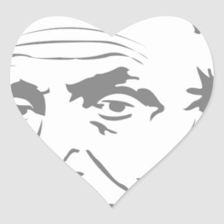 Abraham Lincoln Heart Sticker
