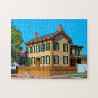 Abraham Lincoln Homestead. Jigsaw Puzzle