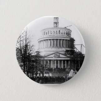 Abraham Lincoln, Inaugural Address, March 4, 1861 2 Inch Round Button
