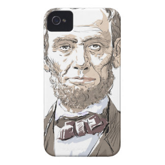 Abraham Lincoln iPhone 4 Case-Mate Cases