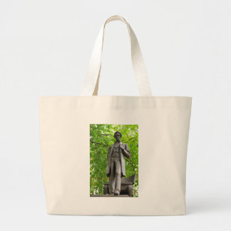 Abraham Lincoln Large Tote Bag