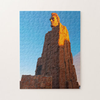Abraham Lincoln Memorial Wyoming. Jigsaw Puzzle