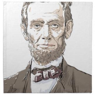 Abraham Lincoln Napkin