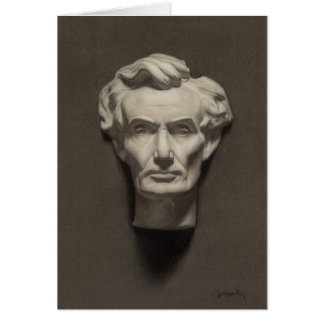 Abraham Lincoln note cards (blank inside)