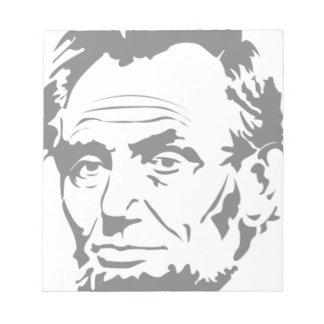 Abraham Lincoln Notepad