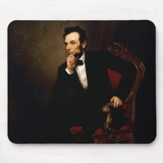 Abraham Lincoln Official White House Portrait Mouse Pad