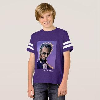 Abraham Lincoln Original Artwork Kid's T-Shirt