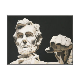 Abraham Lincoln Original - Contemplation Canvas Print