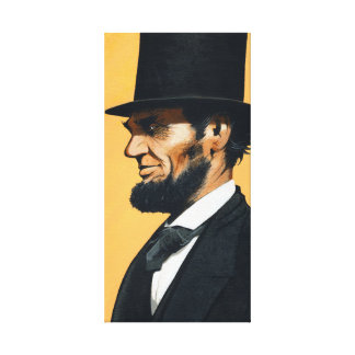 "Abraham Lincoln - Original ""Field Trip"" Canvas Print"
