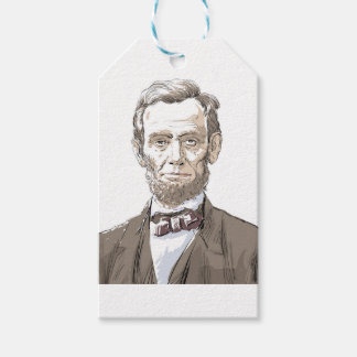 Abraham Lincoln Pack Of Gift Tags