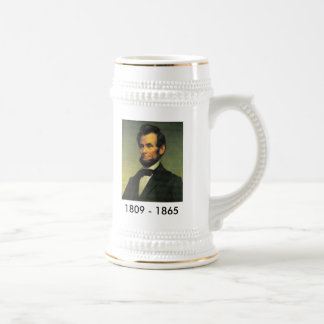 Abraham Lincoln Painting Bicentennial Stein
