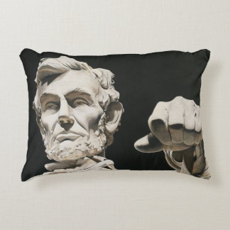 Abraham Lincoln Pillow D.C.- Original Artwork