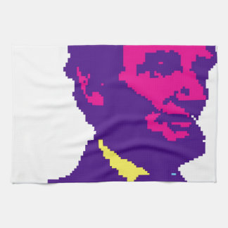 Abraham Lincoln Pixelated Kitchen Towel