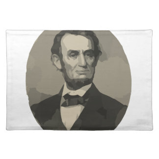 abraham lincoln place mat