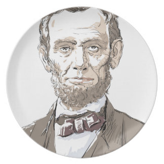 Abraham Lincoln Plate