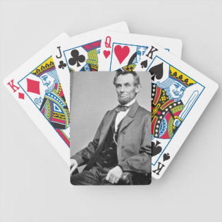 Abraham Lincoln playing cards
